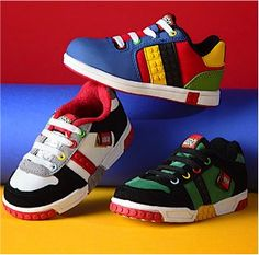 LEGO Shoes ~ up to 50% off! My nephew would look so handsome in these!!