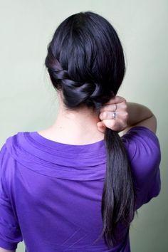 summer hairstyles braid twist DIY