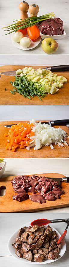 Жаркое из куриной печени - Пошаговый рецепт с фото | Вторые блюда | Вкусный блог - рецепты под настроение