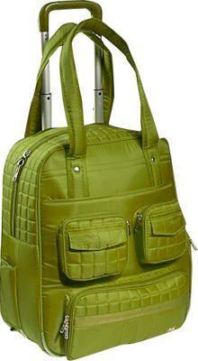 Lug Puddle Jumper Wheelie Bag Grass - via eBags.com!