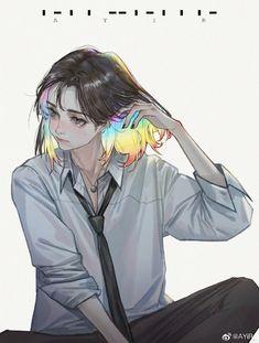 Cartoon Kunst, Cartoon Art, Anime Art Girl, Manga Art, Pretty Art, Cute Art, Aesthetic Art, Aesthetic Anime, Art Sketches