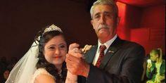 Down Sendromlu Kızı için Damatsız Düğün Yaptı
