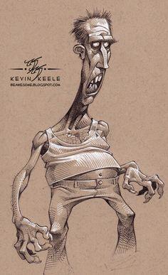 Kevin Keele est un illustrateur qui vit dans l'Utah aux Etats Unis, il est actuellement en poste chez Disney Interactive Studios/Avalanche mais il continue à faire des croquis entre deux films. Il partage sur son site tout un tas de dessins tous plus beaux les uns que les autres, du coup, j'ai fait une sélection, […]