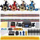 Complete Tattoo Kit Set 4 Machine Gun 54 Ink Color Needle Power Supply TK458