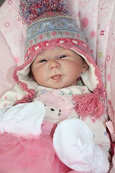 Reborn dolls Katie  sold limited edition kit by Olga Auer.