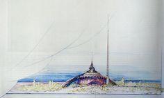 """""""Plan for Greater Baghdad"""":  1957 wurde Frank Lloyd Wright mit dem Entwurf..."""
