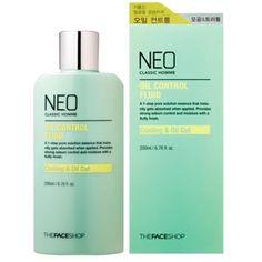 The Face Shop Neo Classic Homme Oil Control Fluid 200ml | eBay