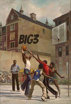 Max Ginsburg Illustration for the Walter Dean Meyers book Hoops Arte Dope, Dope Art, Black Art Painting, Black Artwork, Black Love Art, Black Girl Art, African American Artwork, African Art, Arte Hip Hop