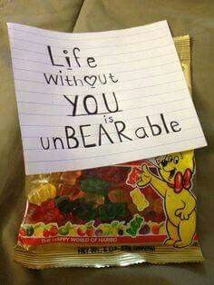Unbearable Gummies For The Gummy Bear Fan In Your Life This Is A Quick And  Cheap Idea To Whip Up ! So A Great One For Those Of Us Who Do Things ...