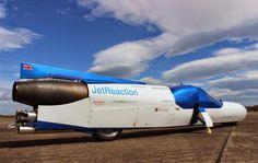 Испытания байка с реактивным мотором прошли в Уэльсе фото:wired.co.uk