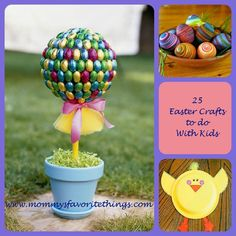 Mommy's Favorite Things: 25 Easter Crafts to do with your Children