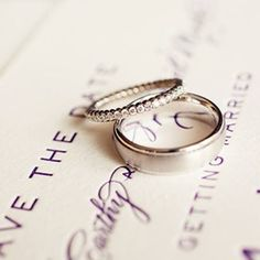engagement ring- I still think that this is a great idea. a band with diamonds for an engagement ring so that you can easily combine it with you wedding band. so pretty