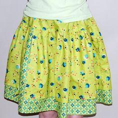 Twirl divided skirt tutorial