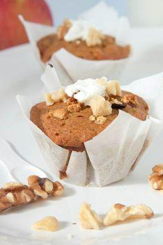 Apple, Yogurt and Granola Muffins