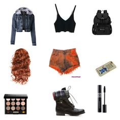 """""""Untitled #27"""" by bestrongbebrave ❤ liked on Polyvore featuring LE3NO, Sherpani, Christian Dior and Bobbi Brown Cosmetics"""