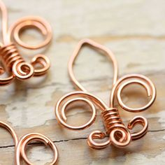Fleur de Lis Solid Copper Wire Small Handmade by myCorabella Wire Wrapped Jewelry, Wire Jewelry, Wire Earrings, Handmade Jewelry, Cub Scouts, Girl Scouts, Wood Badge, Scout Activities, Scout Camping