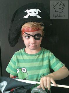 Pirat VeganFaces face paint by IngeSchminkt. Piraten schmink door IngeSchminkt met natuurlijke schmink. Maarssen/Utrecht