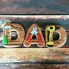Happy Father's Day! Inspired by @sweetambs #cookiesandcakesbyelizabeth…
