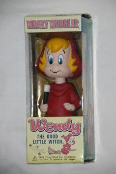 FUNKO 2003 WACKY WOBBLER BOBBLE HEAD HARVEY COMICS WENDY THE GOOD LITTLE WITCH   | eBay