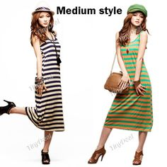 370cf3ede6d Trendy Skirt Slim One-piece Dress Demitoilet Sleeveless Petticoat with  Stripe Pattern for Women -