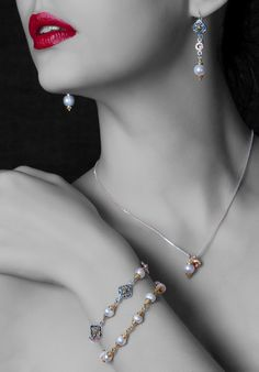 beautiful shot with some of our jewelry.