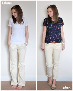 I've had this pair of light yellow trousers for ages. I think my mom bought them for me from Anthropologie when I was in high school, but honestly I'm not sure. Anyway, last year when everyone was wearing white jeans, I considered bleaching them bright white, and then I never got around to it. Then …