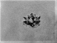 Realistic Lotus tattoo