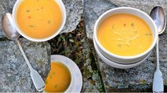 Květáková polévka s batáty | Prima Fresh Cantaloupe, Tofu, Brunch, Fruit, Dinner, Ethnic Recipes, Soups, Dining, Food Dinners