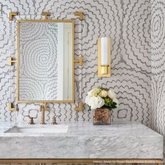 Cheap Home Decor Our sisal by adds dimension and textural allure to this dreamy powder room designed by Home Decor Our sisal by Cline Desormeaux adds dimension and textural allure to this dreamy powder room designed by Powder Room Wallpaper, Bathroom Wallpaper, Of Wallpaper, Fabric Wallpaper, Powder Room Vanity, Feather Wallpaper, Textured Wallpaper, Wallpaper Ideas, Geometric Abstract Wallpaper