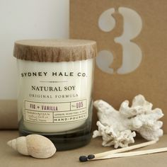 Fig & Vanilla Soy Candle