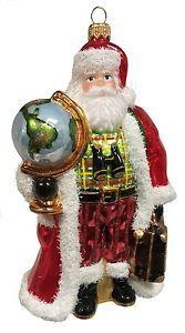 World-Traveler-Santa-with-Suitcase-and-Globe-Polish-Glass-Christmas-Ornament
