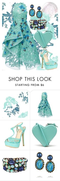 Under The Light Of The Silvery Moon by ellary-branden on Polyvore featuring Monique Lhuillier, Bella Marie, Christopher Kane, Plukka and Elizabeth Cole