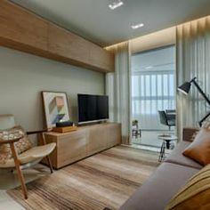 Sala de Estar : Salas de estar modernas por Renata Basques Arquitetura e Design de Interiores