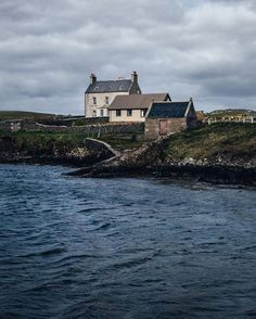 Scotland Travel Inspiration - Bressay, the Shetland Islands, Scotland (Alex Mazurov Photography) Scotland Uk, England And Scotland, Scotland Travel, Oh The Places You'll Go, Places To Visit, Wales, Scottish Islands, Cottages By The Sea, British Isles