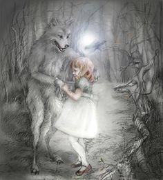 Children's Book Illustration by Elena Caravela, via Behance