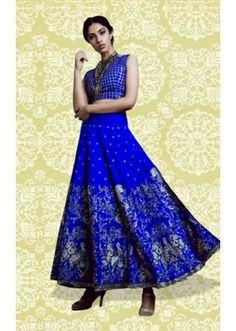 Bollywood Replica - Ethnic Wear Blue Lehenga Choli - 60156