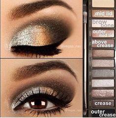makeup. naked 2 palette.