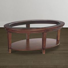 Easton Oval Cocktail Table