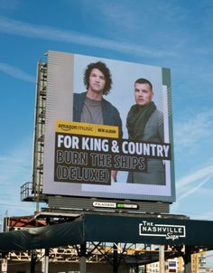 King And Country, Nashville, Burns, Random Stuff, Album, Random Things, Card Book
