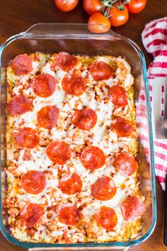 7. Zucchini Pizza Casserole #lowcarb #dinner #recipes http://greatist.com/eat/low-carb-recipes-dinners-low-in-carbohydrates