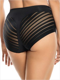panty faja de control suave con bandas de tul--ImagenPrincipal