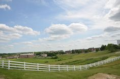 A beautiful view of UConn's Storrs Campus during the Horsebarn Hill Tour at Alumni Weekend.