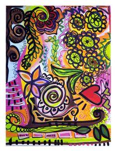 Free-Form Art Canvas