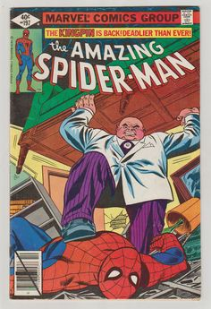 Amazing Spider-Man V1 197 Comic Book.  VF. by RubbersuitStudios #spiderman #kingpin #comicbooks