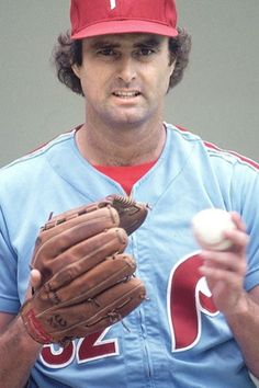 Lefty Steve Carlton, pitcher for the World Series-winning Phillies, my beloved baseball team.