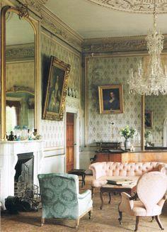 interior casa estilo inglés