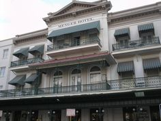 Menger Hotel, San Antonio, Texas: Teddy Roosevelt, who recruited cowboys fresh off the Chisholm Trail to join his Rough Riders, reportedly still frequents the bar at this ornate 1859 palace, looking for new recruits. Located next to the Alamo, some of the soldiers who died in that famous battle still come by, wearing their buckskins and boots.
