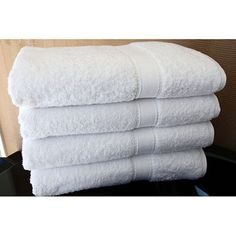 @Overstock.com - Authentic Hotel and Spa Turkish Cotton Bath Towels (Set of 4) - Bring the feel of a luxurious hotel spa into your own bathroom when you use these white cotton bath towels. The plush towels are constructed of 100 percent Turkish cotton. One set includes four solid white towels measuring 27' x 54'.  http://www.overstock.com/Bedding-Bath/Authentic-Hotel-and-Spa-Turkish-Cotton-Bath-Towels-Set-of-4/4717997/product.html?CID=214117 $35.99