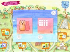 'Bear's Pairs' - The option screen.