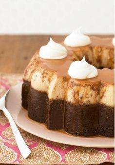 Chocoflan- Una de nuestras recetas favoritas es el chocoflán y esta clásica receta es inigualable. Pruébalo hoy y dejarás a todos encantados.